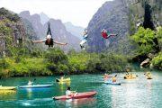 Tour Zipline Sông Chày Hang Tối